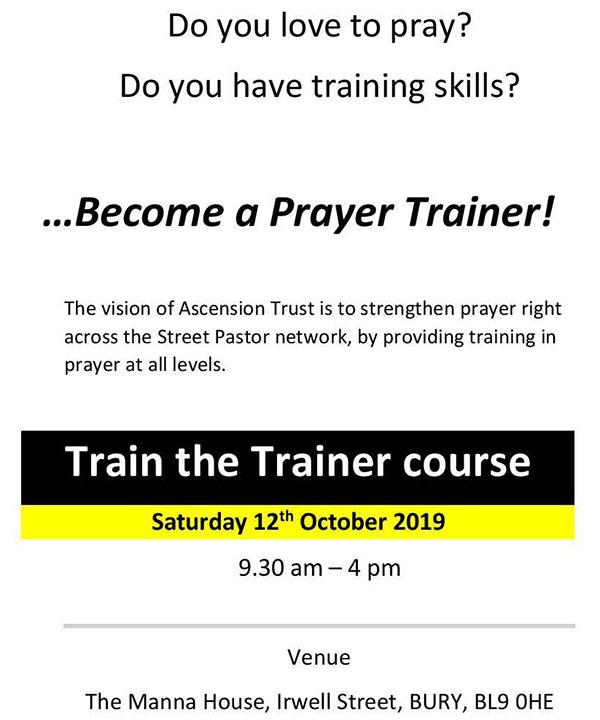 Prayer Pastors | Ascension Trust