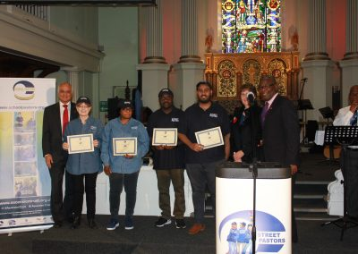 Congratulations to our newly graduated Bexley Street Pastors
