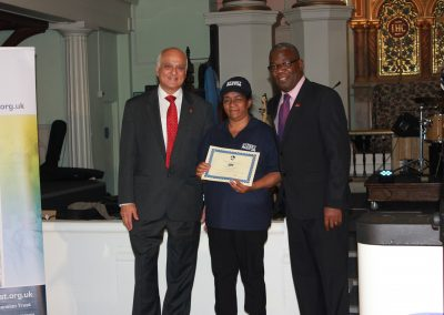 Congratulations to our newly graduated Ealing Street Pastors