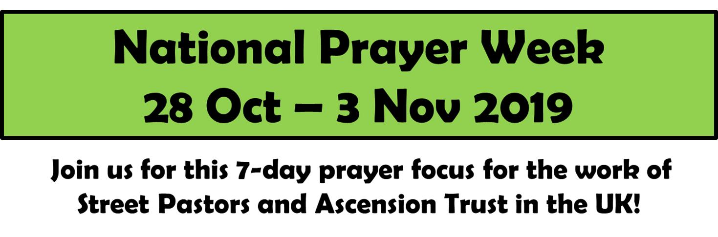 Prayer Pastors | Ascension Trust
