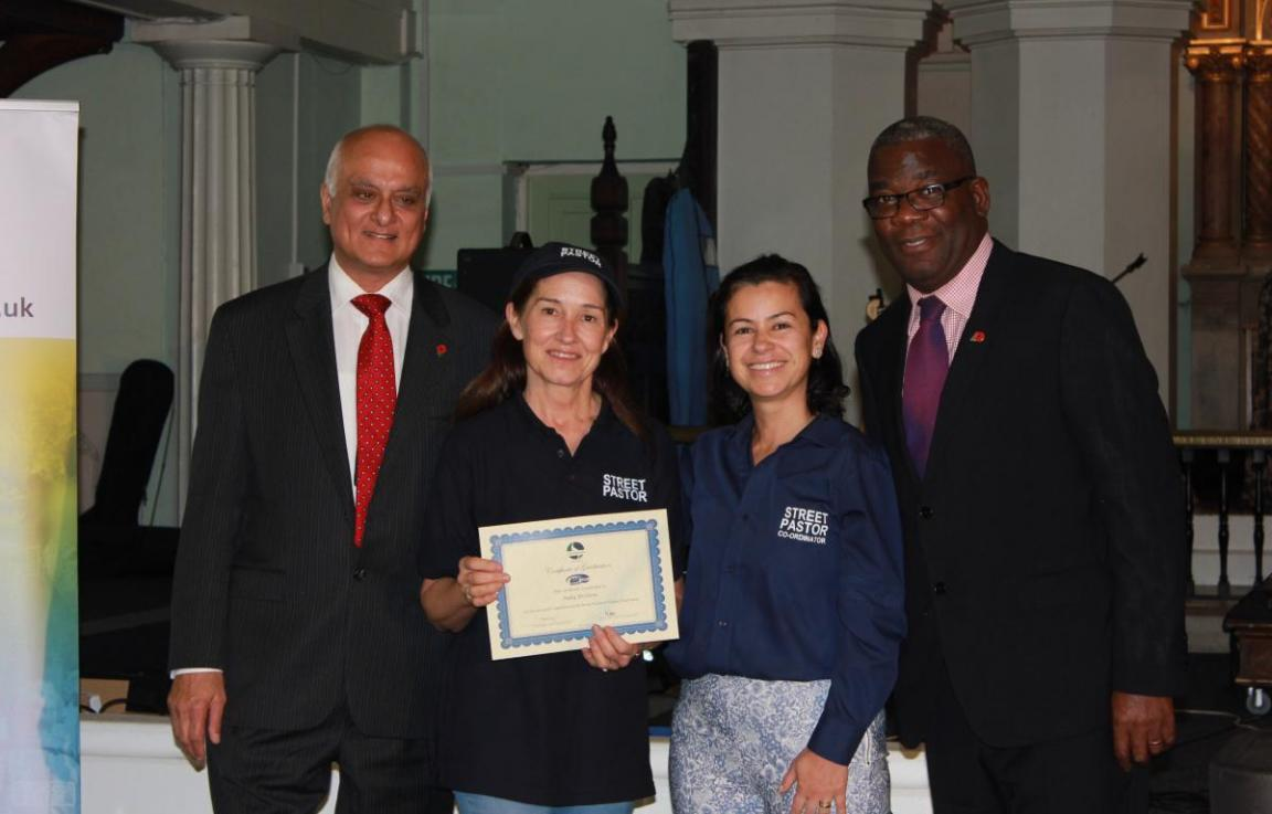Congratulations to our newly graduated Havering Street Pastors